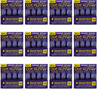 AdTech Dot Glue Runner-Case Pack, PURPLE 12 Pack