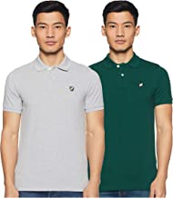 Amazon Brand - House & Shields Solid Men's Polo (Combo Pack of 2)