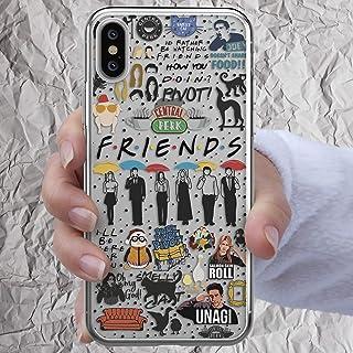 Friends TV Show Merchandise Phone Case for iPhone Xr 12 Mini 11 Pro Xs Max X 8 7 6s 6 Plus SE 2 2020 Central Perk Mug Joey...