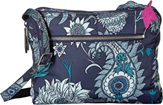 Vera Bradley Midtown Crossbody Cornflower Blossoms One Size