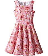 fiveloaves twofish - A Dozen Roses Fit N Flare Dress (Big Kids)