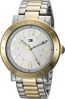 Tommy Hilfiger Women's 1781620 Casual Sport Analog Display Quartz Two Tone Watch