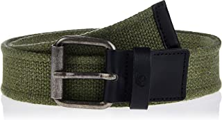 Timberland Men's TMA1DFL CANVAS BELT