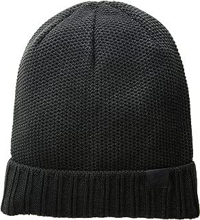 Unisex Honeycomb POM Knit Beanie