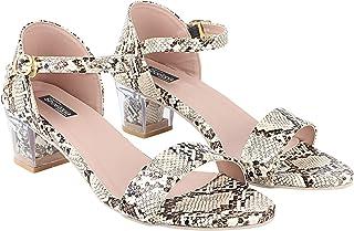 Do Bhai Women Material Synthtic Stylish Open Toe Fashion Heel Sandal(SG-130)