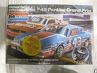 Monogram Richard Petty's Stp/curb Racing #43 Pontiac Grand Prix Stock Car 1/24