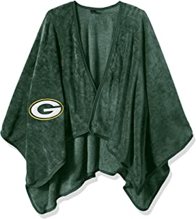 """Officially Licensed NFL """"Silk Touch"""" Throw Blanket Wrap with Applique"""