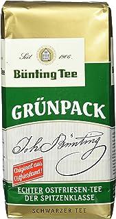 Bünting Tee Grünpack Echter Ostfriesentee 500 g lose, 5er Pack 5 x 500 g