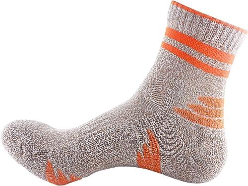 Dimples Excel 1 Pair femmes Winter Warm Socks Knit Wool Cozy Socks (Orange)