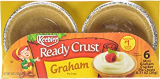 Keebler - Ready Crust - Mini Graham Cracker Crusts - 6 Ct - 4 Oz (Pack of 6)