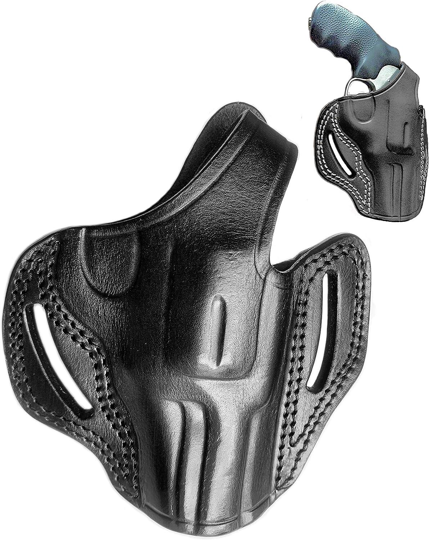 100% quality warranty OWB Leather Revolver Gun Holster for New arrival King 3 Cobra Inch 357 Colt