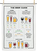Abbott Collection 56-KT-AB-11 Beer Guide Tea Towel-20x28