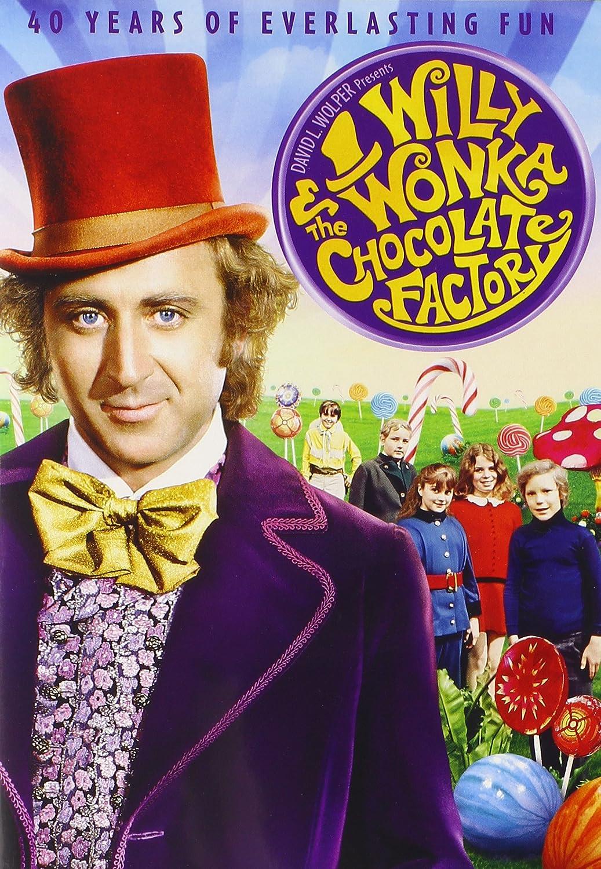Willy Wonka and the Chocolate Factory 40th Anniversary Edition [Import]: Amazon.ca: Gene Wilder, Jack Albertson, Peter Ostrum, Roy Kinnear, Denise Nickerson, Leonard Stone, Julie Dawn Cole, Paris Themmen, Dodo Denney, Mel Stuart,