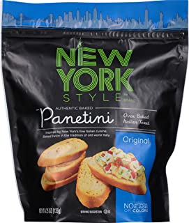 New York Style Panetini, Original, 4.75 Ounce (Pack of 12)