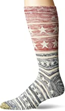 Gold Toe Men's Printed Novelty Graphic Fashion Dress Crew Socks, 1 Pair