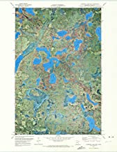 Minnesota Maps - 1971 Lawrence Lake East, MN USGS Historical Topographic Map - Cartography Wall Art - 35in x 44in