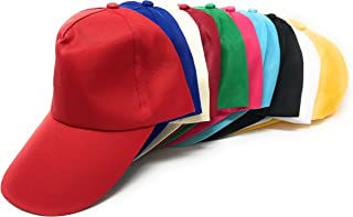 Sea View Treasures 50 Bulk Assorted Value Baseball Caps Hats (Teen and Adult Sized)