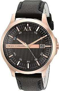 Armani Exchange Black Dial Analogue Men's Watch AX2129