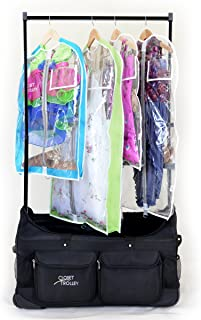 dream duffel dance bag with rack