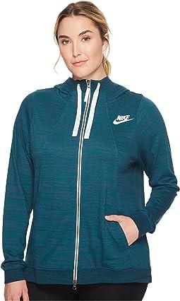 Nike - Sportswear Gym Classic Full-Zip Hoodie (Size 1X-3X)