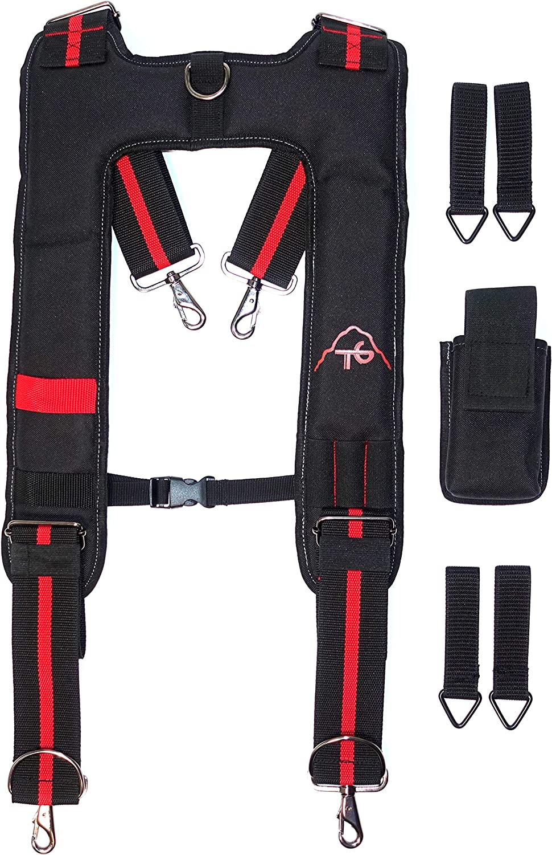Tool Belt Suspenders- Max 41% OFF Washington Mall Heavy Duty Men Work Adjust for Suspenders