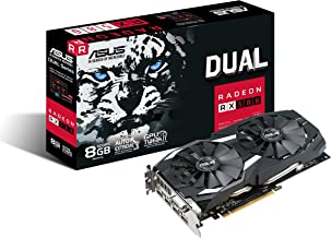 2018 ASUS Video Card - Radeon RX 580 DirectX 12 - 8GB 256-Bit GDDR5 HDCP - Ready CrossFireX Support Video Card