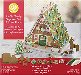 Wilton Ready-to-Decorate Gingerbread Giant A-Frame House