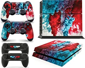 Gizmoz n Gadgetz PS4 Console Colour Explosion Skin Decal Vinal Sticker + 2 Controller Skins Set