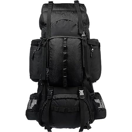 Amazon Basics Internal Frame Hiking Backpack with Rainfly