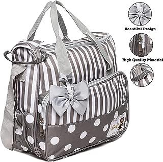 xcluma Baby Diaper Bag, Maternity Mother Bag Size: 30 X 11 X 25 cm (Beige)