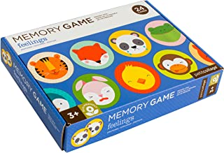 Petit Collage Memory Game, Feelings (24 Chunky Cards to Match)