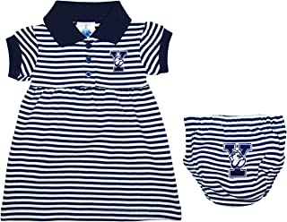 Yale University Bulldogs Striped Game Day Dress with Bloomer