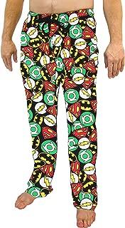 DC Comics Justice League All Over Print Men's Sleep Pants Pajamas