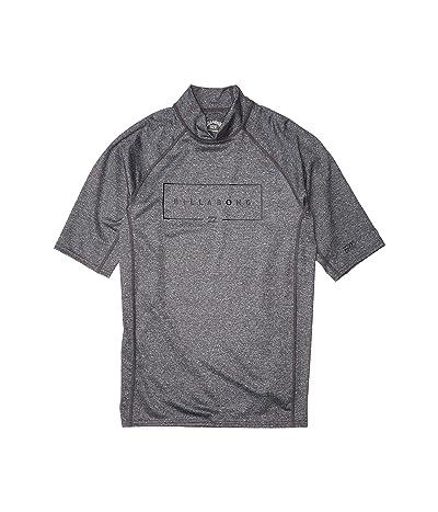 Billabong Union Performance Fit Short Sleeve (Grey Heather) Men