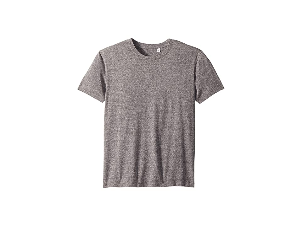 Image of AG Adriano Goldschmied Kids Dane Destructed Tee (Big Kids) (Nickel) Boy's T Shirt