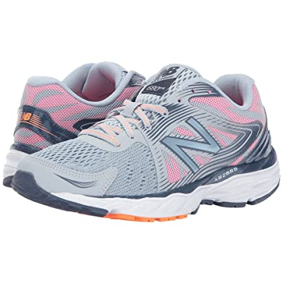 New Balance 680v4 (Light Cyclone/Alpha Pink) Women