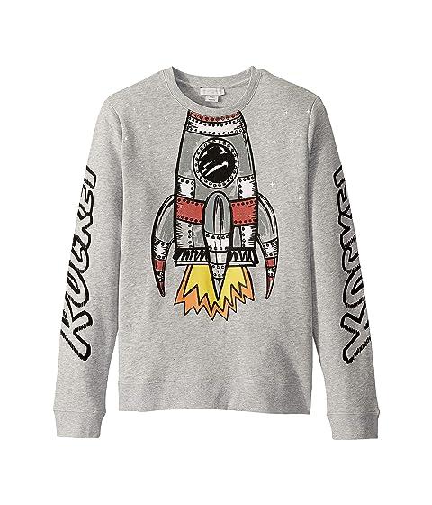 Stella McCartney Kids Rocket Sweatshirt (Toddler/Little Kids/Big Kids)