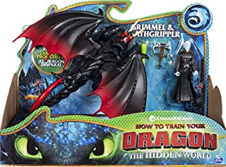 Best Dreamworks Dragons, Deathgripper and Grimmel, Dragon with Armored Viking Figure, for Kids Aged 4 and Up Review