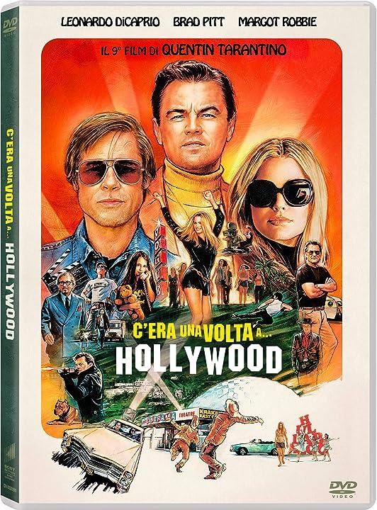 Dvd- film - c`era una volta a hollywood - leonardo di caprio e brad pitt B07Y3CDSQN