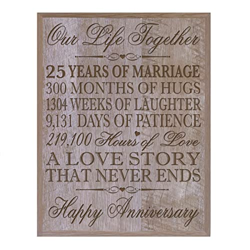 25th Wedding Anniversary Gift Ideas For Him: 25th Wedding Anniversary Gifts For Husband: Amazon.com