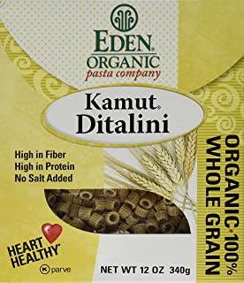 Eden Foods Organic Pasta Company Kamut Ditalini -- 12 oz
