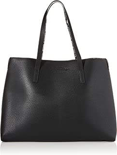 Canvas and Beach Tote Bag, Black