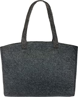 Brandsseller Damen Filz Handtasche Freizeit Shopping Bag ca. 36 x 27 x 6 cm