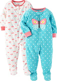 58c1e2f81 Amazon.com: Carter's - Blanket Sleepers / Sleepwear & Robes ...