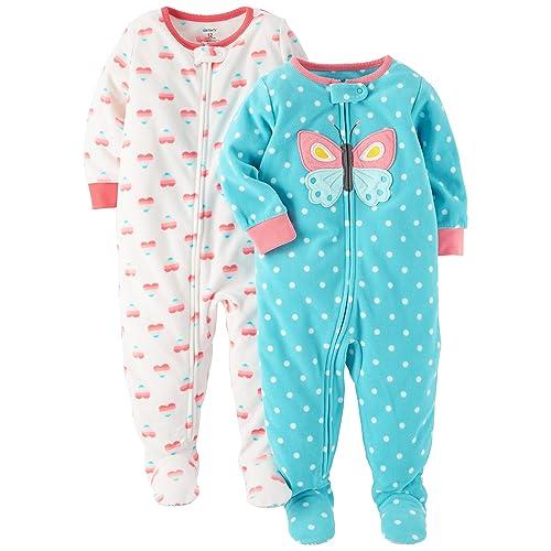 8cbf3a497 Carter s Fleece Sleepers  Amazon.com