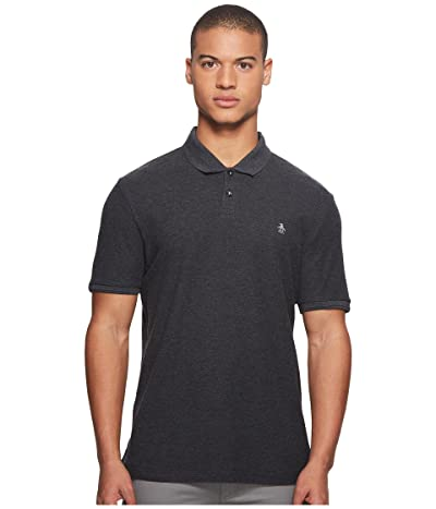 Original Penguin Daddy Polo (Dark Charcoal) Men