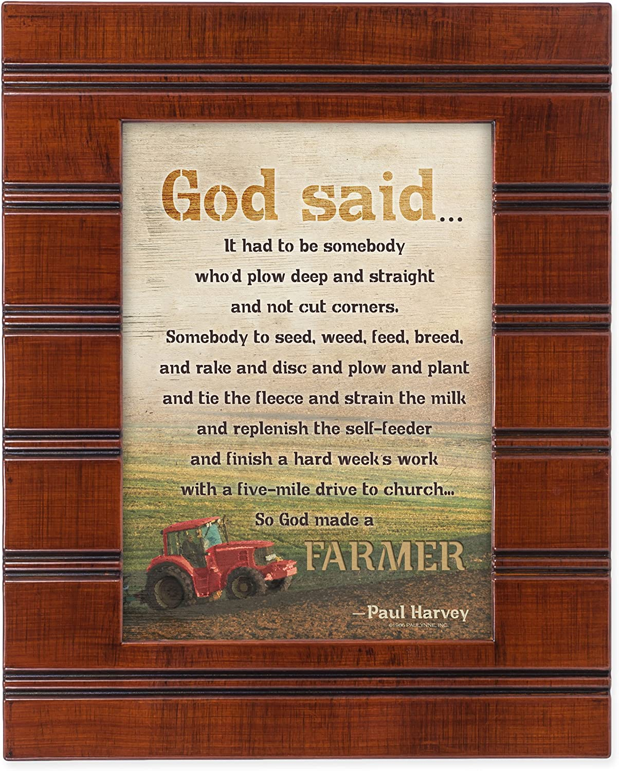 Ranking TOP5 So God Made a Farmer Red Tractor Trust Finish 10 Sentimental x 8 Wood