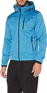 CMP Men's Zipped softshell jacket with hood Jacket