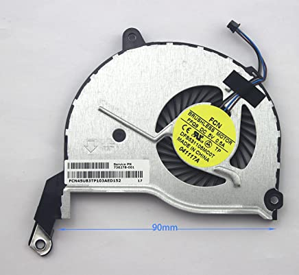 Eathtek Replacement CPU Cooling Fan for HP Pavilion 15-N 17-N 14-N 15-F 15-f048ca 15-n274eo 15-n277eo 15-n284so 15-n285eo 15-n030sa Series
