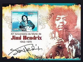 Jimi Hendrix Music Icon Collectible Postage Stamp Gb10302b